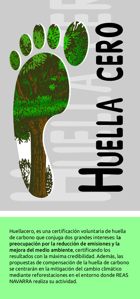Folleto huella de carbono